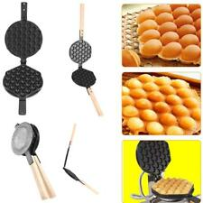 Non Stick Egg Waffle Pans Bubble Eggettes Iron Pans Baking Mold Plate Machine