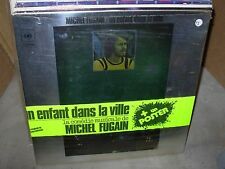 MICHEL FUGAIN un enfant dans la ville ( pop ) - SEALED - poster - france -