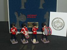 BRITAINS RARE BUCKINGHAM PALACE GRENADIER GUARDS METAL TOY SOLDIER FIGURE SET