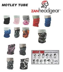 Zan HeadGear Motley Tube Facemask 2014 Mens Womens Girls Boys Kids Adults Neck