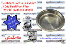 Sunbeam Cafe Series 1 Cup Filter EM58103 - 51mm - NEW - GENUINE - IN STOCK