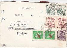 Korea 1963 Ham Chang-Alterheim Germany Cover VGC