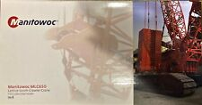 Manitowoc MLC650 Crawler Crane Model 1:50 scale with VPC