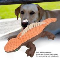 Funny Plush Lizard Pet Puppy Dog Toys Soft Plush Sound Squeaky Chew Toy Gifts
