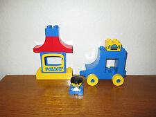 Lego Duplo 2451 Police Squad, Blue car train base