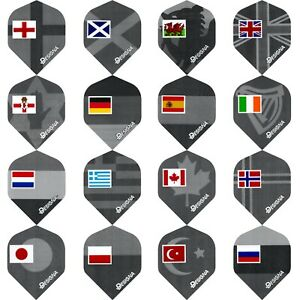 Designa Patriot Dart Flights Standard 1-10 Sets National Flags