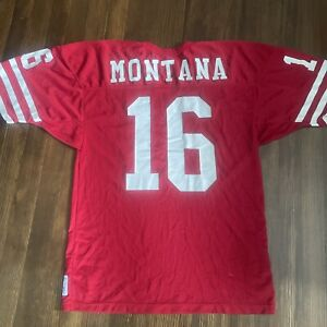 VTG San Francisco 49ers Joe Montana Authentic 1989 Russell Athletic Jersey 80s