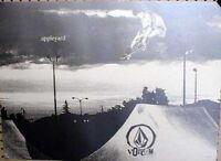 VOLCOM 2002 Mark Appleyard skateboard promo poster Flawless New Old Stock