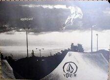 VOLCOM `02 Mark Appleyard skateboard poster!~MINT~!