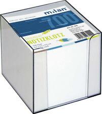 Milan-zettelbox Ca. 700bl transparent 10x10x10