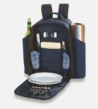 Picnic Plus Millbrook 2 Person Picnic Backpack Insulated Cooler Blanket Plates