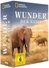 National Geographic*Wunder der Natur 4 DVDs*Tierwanderungen*Raubtiere in Aktion*