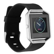 Renewed Fitbit Blaze Smart Fitness Activity Watch Black/Silver - Large Generic