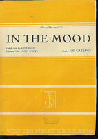 """ IN THE MOOD "" von JOE GARLAND"