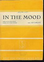""""""" IN THE MOOD """" von JOE GARLAND"""