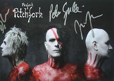 █▬█ ⓞ ▀█▀ Project Pitchfork ⓗⓞⓣ original autógrafo ⓗⓞⓣ Blood ⓗⓞⓣ autografiada mapa