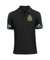 Royal engineers Airborne Sappers Embroidered Polo Shirt