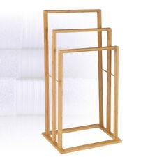 Toalleros de baño de bambú