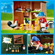 Playmobil. Poulailler. Ferme. Animaux