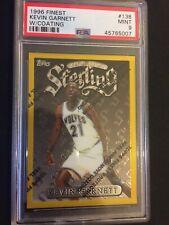 1996-97 Topps Finest Gold Kevin Garnet PSA 9 - Kobe RC Year - Rare