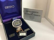 Seiko LC 0654-5000 Quartz LCD LED Watch
