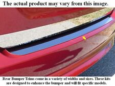 2013-2018 FORD FUSION 1 Piece Stainless Steel Rear Bumper Trim Accent. 4-door