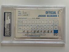 Ben Crenshaw JC Snead 1978 PGA Golf Scorecard Signed Autograph PSA DNA