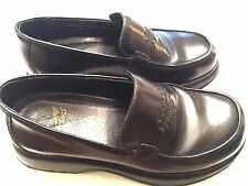 DANSKO Slip On Clog Womens 36 EU Black Embroidered Leather Shoes Portugal