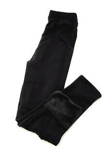 Damen Thermo Leggings dicke warme Winterleggings schwarz Gr. 46/48 50/52 54/56