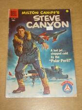 FOUR COLOR #804 VG (4.0) DELL COMICS STEVE CANYON JUNE 1957