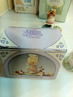 1989 Precious Moments ~ SEPTEMBER  Monthly Miniature Plastic Figurine MIB 573493