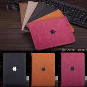 Housse Etui Coque PU Cuir Support Smart Cover Case iPad mini 3 4 5 Air 9.7 10.2