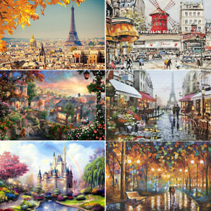 1000 Pieces Adult Puzzles Difficult Scenery Puzzle Romantic Scenic Spot Jigsaw