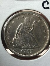 1875 S TWENTY CENT PIECE  GREAT BU HIGH GRADE COIN LOOK!!!!!!