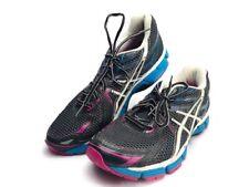 Women's ASICS GT-2000 Running Shoes Sz 9 Black White Blue Pink  T2K7N