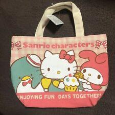 Sanrio Characters Mini Tote Bag Hello Kitty My Melody Tuxedo Sam New F/S Japan