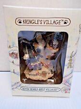 Boyds Bearly Built Kringle'S Villages Elves-B-Us Workshop Ornament New c