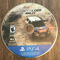 Sebastien Loeb Rally Evo Ps4 PlayStation 4 Game Disc Only 52m