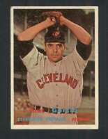 1957 Topps #300 Mike Garcia EX/EX+ Indians 131506