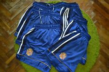 LOT 6 VINTAGE SPAIN NATIONAL TEAM AWAY FOOTBALL SHORTS 1999/2000 SOCCER ADIDAS M