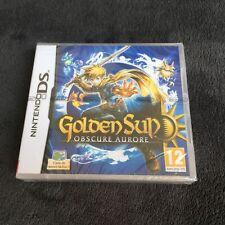 Golden Sun Obscure Aurore Nintendo DS