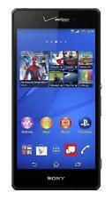 SONY XPERIA Z3v (D6708) Black 32GB Verizon Clean ESN 20MP Phone (GSM Unlocked)