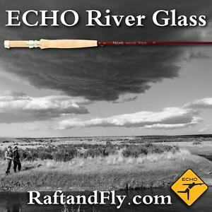 "ECHO River Glass 2wt Amber Caramel 6'9"" - Lifetime Warranty - FREE SHIPPING"
