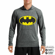 Officially Licensed Batman Signal Performance Hoodie S-XXL Sizes