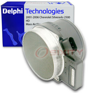 Delphi Mass Air Flow Sensor for 2001-2006 Chevrolet Silverado 2500 HD 6.0L qh