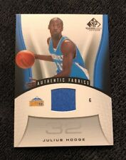2006-07 SP Game Used Authentic Fabrics Julius Hodge
