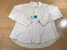 Valentino Uomo Dress Shirt Cream Colorway Size 16 1/2 34-35 Mens Formal Clothing