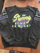 Best Company Black Vintage Skiing Sweatshirt Size 8 (S/M). By Olmes Carretti