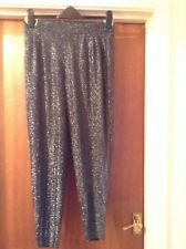 Silver Glitter Trousers by Next