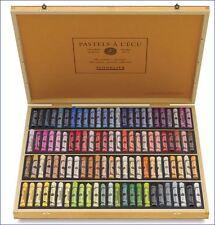 Soft Sennelier 100 Full Pastel Set Box Assorted Colors Professional Artists